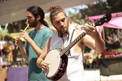 Melkisedeck (homeroprodan) Tags: music patagonia mountains argentina canon 50mm banjo flute musica andes celtic 18 misfotos cordillera celta t3i flauta bolson 600d