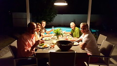 Dining with Tom & Eric and Jan & Peter in Palm Springs