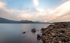 Where tranquility meets spectacle! (Ashk81) Tags: longexposure lake landscape maharashtra pune movingclouds lakepavana leebigfilter lakepawana