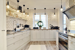 swedish-townhouse-with-cozy-patio-03 (ideasandhomes) Tags: house kitchen design apartment sweden interior townhouse dcor