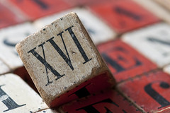 Old Wooden Blocks (NedraI) Tags: old macro toy wooden antique blocks block alphabet inheritance romannumeral 1870 macromondays