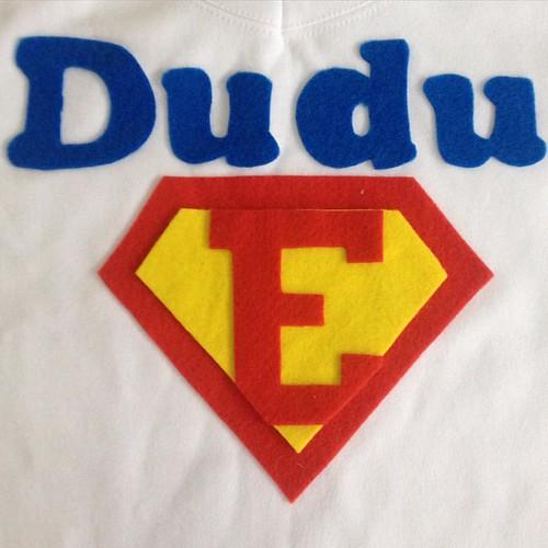 Super Eduardo ou Dudu para os mais íntimos!  #bunicachica #customizacao  #patchaplique  #instakids #instabest #instababy