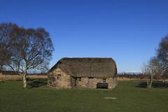 Culloden Moor, Old Leanach Farmhouse (Eastern Davy) Tags: farmhouse canon scotland highlands restored battlefield moor inverness culloden 24105 nts jacobite 70d unlimitedphotos oldleanachfarmhouse
