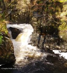 The Wee Cauldron (sopwell287) Tags: water scotland waterfall phone wee j5 glenlednock