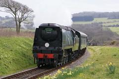 SR Battle of Britain Class (Kingfisher1951 David Ward) Tags: manston steamlocomotives srbattleofbritainclass swanagespringgala
