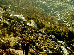 Ikaria's remotest hinterland 44 - rounding one slope after another (angeloska) Tags: march ikaria aegean greece hikers pezi hinterland hikingtrails   langada    vrakades  opsikarias