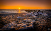Sunset Rocks-3594-2-1 (pfrost1) Tags: sunset beach rocks thornton cleveleys tidebreak