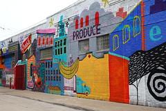 Detroit, Eastern Market - Street Art 1 (RichKD) Tags: street city food art graffiti mural farmers market michigan detroit