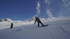 Speedy Bzu (Horace T) Tags: mountain snow alps montagne alpes canon hiking snowboard neige randonne splitboard efs1022mm plat eos60d