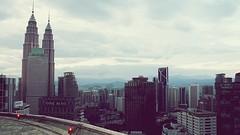 Skyline of Kuala Lumpur ('TIGER') Tags: tower bar floor lounge petronas towers twin malaysia sultan kh kuala jalan ismail kl 34th heli menara lumpur bukit bintang