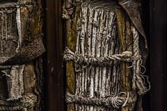 Old binding (Ignacio M. Jimnez (antes hermano Montgolfier)) Tags: espaa detalle macro cuerda spain books rope andalucia jaen andalusia libros binding baeza inheritance encuadernacion macromondays