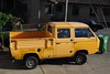DSC_0244 (wbaiv) Tags: vw volkswagen t3 vanagon crewcab t279w shortbed pickup truck 4wd fourwheeldrive yellow wellused synchro wasserboxer watercooled flatfour syncro 4wdbysteyrpuch steyrpuch car automobile motor vehicle transport land wheeled