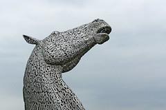 The Kelpies [detail] (Leo Reynolds) Tags: xleol30x leol30random panasonic lumix fz1000 art sculpture publicart horse kelpie groupfz1000fanclub xxx2016xxx