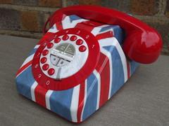 Kitsch Old Style Union Jack Telephone (beetle2001cybergreen) Tags: old jack telephone union style kitsch