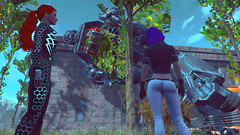 592 (Beth Amphetamines) Tags: cambridge wallpaper hair giant outside liberty prime robot outfit screenshot hand purple ghost shell gits redhead synth labs inthe destroyed lizzy sentinel kusanagi cybernetic polymer n7 motoko fallout4 vaultsuit