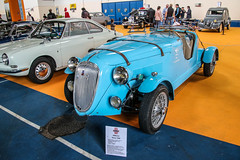 Simca 8 (xwattez) Tags: auto old france car french automobile expo 8 voiture exposition transports 1500 sportscar racer ancienne simca 2016 sportive franaise tarbes vhicule boursedchange