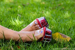 Ana (Anas feet) Tags: woman feet girl foot mujer toes pies heels soles dangling