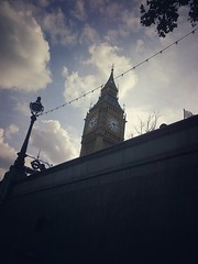 Elizabeth Tower (Lunatic Photographer UY) Tags: westminster parliament palace congreso parlamento