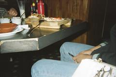 (TheKinkyKid) Tags: city family people urban food color film night analog dinner 35mm mexico photography restaurant photo holga lomography kodak iso400 flash toycamera lofi indoors urbanexploration pointandshoot urbano fotografia nite filmphotography fotografiaurbana mejoramigo analogo kodacolor400 holgak200nm