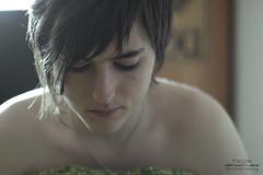 Fade away (Tsundere_Tikor) Tags: morning light portrait selfportrait luz maana face wow naked nude sadness natural artistic retrato dream away fade serene awake conceptual autorretrato deepness desnudo pensamiento melancolia despertar concepto artstica