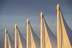 Sails (_32_2918) ([Rossco]:[www.rgstrachan.com]) Tags: canada sunshine vancouver evening britishcolumbia canadaplace coalharbour