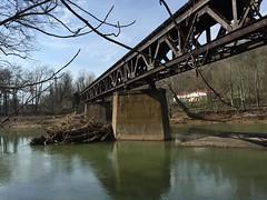 1 Hutchinson (photography_isn't_terrorism) Tags: railroad trestle bridge reflection abandoned train river rust rusty wm wv westvirginia rusted bo westernmaryland baltimoreohio westernmarylandrailway westforkriver