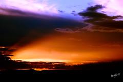 Sunset Bokpoort (Angel-19) Tags: sunset orange sun sol clouds canon southafrica atardecer naranja kalahari sudafrica canonespaa canon1200d