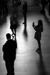 Central Silhouettes (Torsten Reimer) Tags: nyc newyorkcity people blackandwhite usa newyork contrast us photographer shadows unitedstates manhattan unitedstatesofamerica silhouettes grandcentralstation northamerica schatten schwarzweis