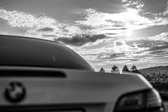 BMW SUN (wildbam25) Tags: auto white black car bmw weiss schwarz