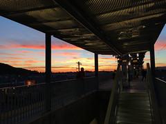 Naranja_2017 (Omar Omar) Tags: california sunset usa atardecer la losangeles twilight publictransit expo metro dusk puestadesol masstransit lightrail crepusculo losangelesmetro californie usofa losangelesca expoline losngeles losngelescalifornia