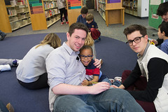 Seniors & Buddies Reading in the Library (North Shore Country Day School) Tags: reading spring library buddy april sk 12th jk 1516 acj 2016 nscds classof2016 photoofday buddyday 2010s classof2029 halllibrary classof2028 artjessen