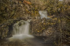 How Rapid? (handmiles) Tags: longexposure trees motion colour water rural out landscape outside scotland countryside waterfall moss rocks outdoor sony wideangle scot tamron hdr scotish ndfilter tamron1024mm sonya77m2 sonya77mark2 mileshandphotography2016
