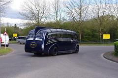 IMGP0098 (Steve Guess) Tags: uk blue england bus museum cub surrey gb cobham weybridge leyland harrington brooklands byfleet