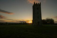 No Damsels, No Distress (Adrian Costigan.) Tags: ireland irish sun sunlight house castle canon eos dusk carton kildare
