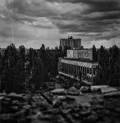 PlatzPripyat (naturalbornclimber) Tags: urban bw decay radiation nuclear ukraine hasselblad disaster medium format exploration bnw zone chernobyl exclusion urbex tschernobyl pripyat hasselblad503cx prypjat