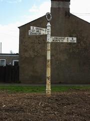 Road Sign, Widdrington Station (aj.gardner) Tags: signs sign direction northumberland directions roadsign roadsigns signpost distance mileage information distances wansbeck fingerpost roadjunction widdringtonstation b1337