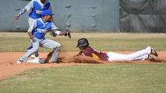 Head first slide (AppStateJay) Tags: game sport nc nikon baseball action charlotte northcarolina away os victory christian second athlete base dg gryphons 2016 f456 sigma70300mm d7100 tjca thomasjeffersonclassicalacademy