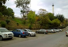 (nesreensahi) Tags: road street trees sky cars nature landscape syria siria  syrie latakia