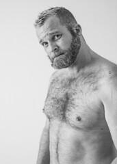 Bryan K, Vancouver, 2016; 4055 (billpusztai) Tags: bear man male beard handsome