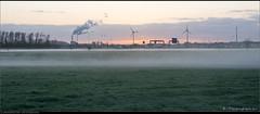 Fog and Sunrise (Peterbijkerk.eu Photography) Tags: mist fog sunrise nederland nl windturbine noordholland a9 heiloo hvc zonsopkomst peterbijkerkeu