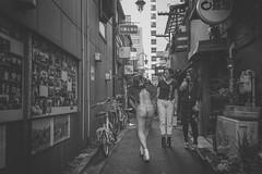 FALLEN ANGEL (ajpscs) Tags: street blackandwhite bw blancoynegro monochrome japan japanese tokyo blackwhite spring alley nikon outdoor streetphotography monochromatic fallenangel d750  nippon goldengai  blkwht grayscale  shitamachi  seasonchange   monokuro ajpscs shinjukugoldengai