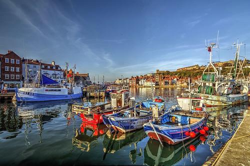 Whitby Marina, North Yorkshire.