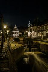 Amersfoort night cityscape (PaulHoo) Tags: city nightphotography light holland church water netherlands architecture night canal nikon cityscape nightlights nik amersfoort lightroom 2016