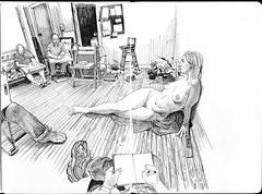 larrys361601small (paul heaston) Tags: notebook nude artwork drawing journal wideangle sketchbook denver fisheye figuredrawing lifedrawing