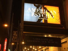 American Psycho, the Musical (jericl cat) Tags: city nyc newyork theater theatre manhattan broadway musical gerald american psycho schoenfeld