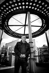 Stolen Moments : Mike Gates (Garry Corbett) Tags: circle birmingham bandstand birminghamuk scorchedearth mikegates stolenmoments cityarchitecture 123bw bluejazzbuddha rehabrecords ukvibe peterbaconsjazzbreakfastblog thejazzbreakfast cgarrycorbett2016 jazzportraitproject watersidebirmingham