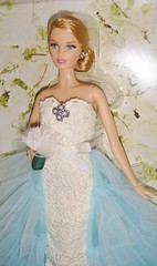 2016 Oscar de la Renta Bride Barbie (5) (Paul BarbieTemptation) Tags: de gold bride la oscar designer label barbie series brides 2016 renta