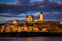 Nubble Lighthouse - Cape Neddick, Maine (eabelcher) Tags: lighthouse seascape maine capeneddick nubblelighthouse