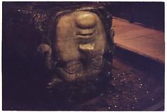 (tayn3) Tags: travel film wet mystery analog 35mm turkey underground ancient kodak head pillar olympus istanbul carving 200iso 200 mysterious analogue subterranean medusa olympusom2 om2 cistern constantinople 2016 olympusom2n om2n colorplus200 traveldeeper