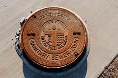 city of tulsa (fallsroad) Tags: rust rusty cover rusted manhole tulsaoklahoma nikond7000